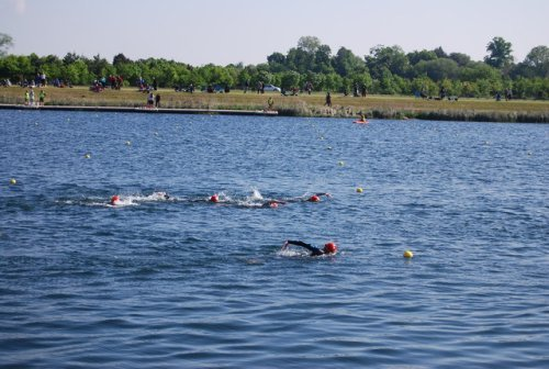 Get started in open water swimming